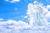 Angel in Sky — Stock Photo