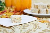 Pumpkin Fudge — Stock Photo