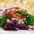 Royalty-Free Stock Photo: Roasted turkey for the holidays