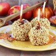 Candy Apples and Ingredients — Stock Photo #3858329