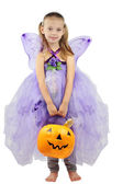 Child Dressed for Halloween — Stock Photo