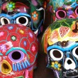 Colorful skulls — Stock Photo #2993513