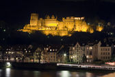 Castle by night — Stockfoto