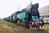 Green train — Stock Photo