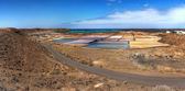Salinas de Janubio, Lanzarote — Stock Photo