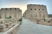 Entrance to Karnak — Stock Photo