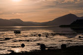 Loch Linnhe at night — Stock Photo