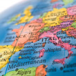 Stock fotografie: Global Studies Colorful Closeup of Europe and