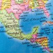 Global Studies A Colorful Closeup of Mexico and — Stock Photo