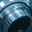 Closeup of a Safe Vault Combination Spinner — Stock Photo #2763647