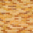 Orange, Red, and Tan Brick Wall Background — Stock Photo #2866387
