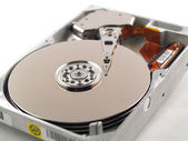 Internal Hard Drive with the Case Opened — Stock Photo
