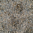 Playground Pea Gravel with Some Wet and Some Dry — Stock Photo