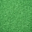 Stok fotoğraf: Burlap Green Fabric Texture Background
