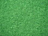 Burlap Green Fabric Texture Background — Stock Photo