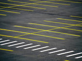 Empty Parking Lot — Stock Photo