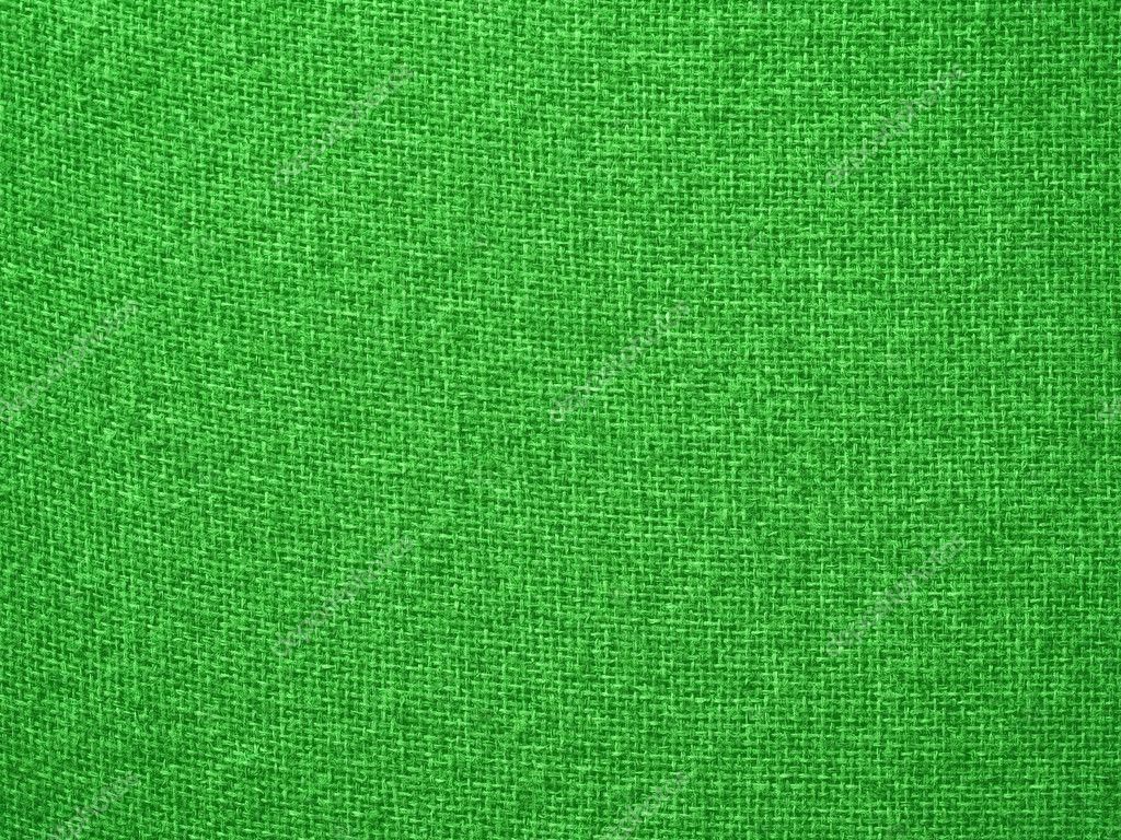 Green Burlap Fabric Closeup