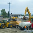 Heavy Duty construction equipment at work site — Stock Photo #3015140