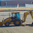 Heavy Duty construction equipment at work site — Stock Photo