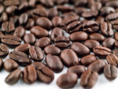 Coffee Beans Filling the Frame as a Background — Stock Photo