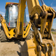Heavy Duty construction equipment parked at work site — Stock Photo #3278026