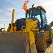 Royalty-Free Stock Photo: Bulldozer Construction Equipment parked at work site