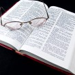 The Bible opened to the Book of Proverbs — Stock Photo #3278577