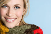 Scarf Girl — Stock Photo
