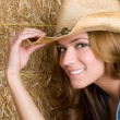 Happy Country Woman — Stock Photo #2920200