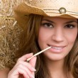 Smiling Country Girl — Stock Photo #2920206