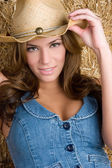 Country Woman — Stock Photo