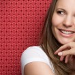Smiling Teen Girl — Stock Photo