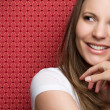 Stock Photo: Smiling Teen Girl