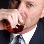 Man Drinking — Stock Photo