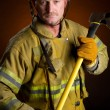 Fireman - Stock Photo