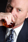 Man Drinking — Stock Photo