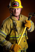 Brandweerman — Stockfoto