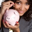 Stockfoto: Saving Money
