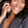 Stock Photo: Cell Phone Woman