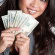 Money Woman — Stock Photo #3166795