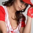 Baseball Girl — Stock Photo #3166897