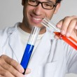Royalty-Free Stock Photo: Test Tube Man