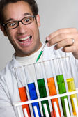 Science Experiment Man — Stock Photo