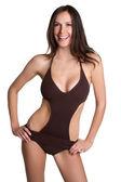 Swimsuit Woman — Stock Photo