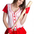 Royalty-Free Stock Photo: Sexy Baseball Girl