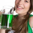 St Patricks Day Girl — Stock Photo