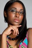 Glasses Woman — Stock Photo