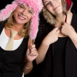 Foto Stock: Goofy Hats