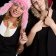 Goofy Hats — Stock Photo