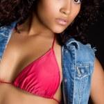 セクシーな黒人女性 — ストック写真